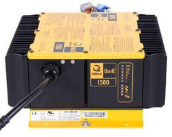Industrial Battery Charger accelerates electric vehicle servicing.