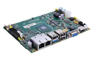 Embedded Single Board Computer operates from +12 to +24 V.