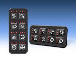 Customizable Keypads satisfy J1939 CAN requirements.
