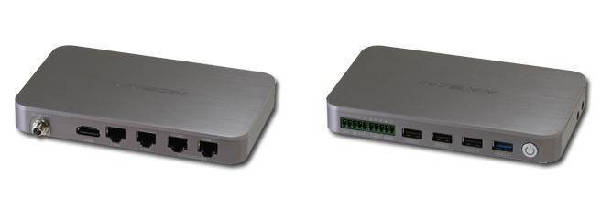 Embedded Box PC features tiny form factor.