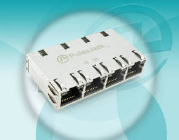 Integrated Connector Module features PoE capability.