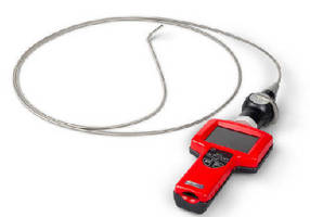 Articulating Video Borescope utilizes metal-braided probes.