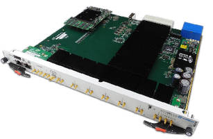 Analog-to-Digital Converter provides 8 channels at 2.6 GSPS.