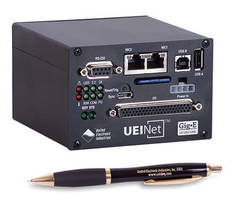 Compact Gigabit Ethernet I/O Module supports diverse input types.