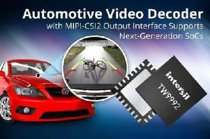 Automotive Video Decoder features MIPI-CSI2 output interface.