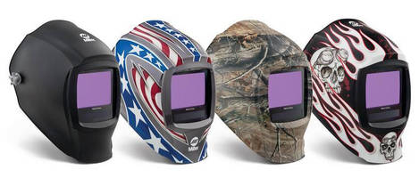 Welding Helmets feature the largest viewing area in the industry