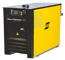 Plasma Cutting System features built-in process database.