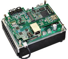 High Power LED Driver supplies constant drive current up to 75 A.