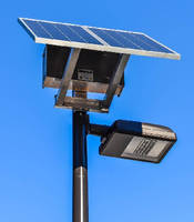 Solar LED Roadway Lights create and store their own power.