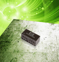 DC-DC Converters offer extra wide 4:1 input range. .