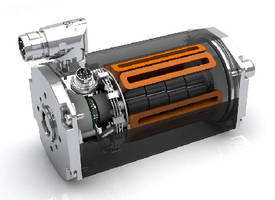 Rotary Brushless DC Motor provides over 90% efficiency.
