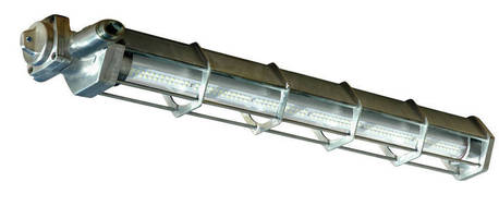 Linear Low-Profile 52 W LED Fixture has explosionproof design.