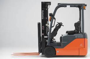 Electric Forklifts offer 3,000-4,000 lb capacities.