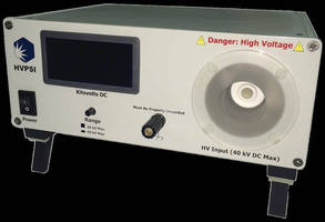 Digital High Voltage Meter can be used in lab, field operations.