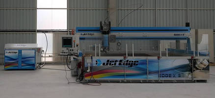 Hasmak Construction Installs Jet Edge 5-Axis Waterjet Cutting System