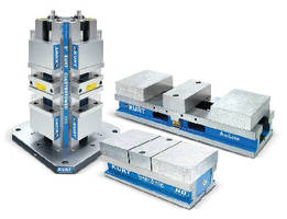 Two-Station Vises maximize workholding productivity.