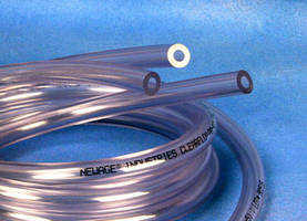 Antimicrobial PVC Tubing serves fluid transfer applications.