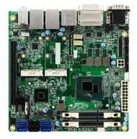 Mini-ITX Board supports Intel® 5th Gen quad-core processors.