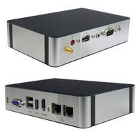 Box PC features small, fanless form factor.