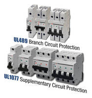 Miniature Circuit Breakers protect up to 480 Y/277 Vac systems.