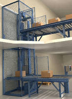 Package Handling Lift achieves max speed of 1,500 fpm.
