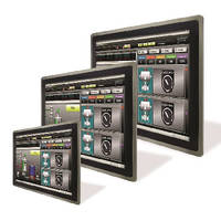 HMI Touch Panels support industrial process automation.