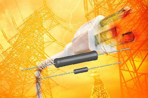 Wirewound Resistors offer surge protection to 106.5 J.