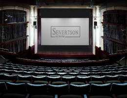 Motorized Cinema Screens target large venues.