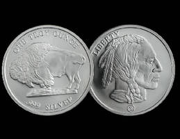 Silver Coin is inspired by buffalo nickel.