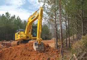 Hydraulic Excavator cuts fuel consumption.