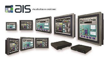 HMI Touch Panels support industrial control systems.