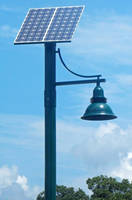 Solar LED Lights operate completely off grid.