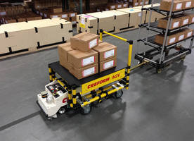 Creform AGV Ideal for Tight Turns and Narrow Aisle Material Handling