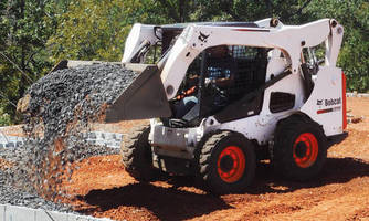 Tier 4 Skid-Steer Loader combines capacity, reach, visibility.
