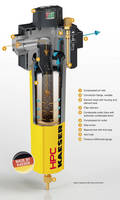 Compressed Air Filters exhibit minimal pressure differential/loss.