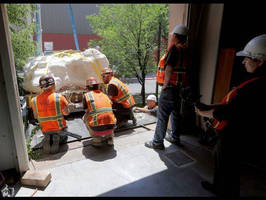 MEI Rigging and Crating Delivers Utah's Jurassic World