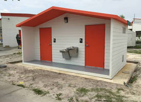 Leesburg Concrete Delivers DOE Approved Carson Restroom to Volusia County School
