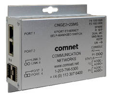 Self-Managed Ethernet Switch offers ring topology solution.