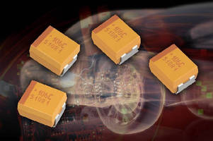 Tantalum SMD Capacitors feature low DCL of 0.005 CV.