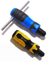 Preset Torque Screwdriver eliminates over/under tightening.
