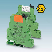 PLC Relays are dual rated for hazardous locations.