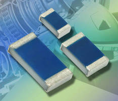 Platinum SMD Flat Chip Temperature Sensors operate up to +175°C.