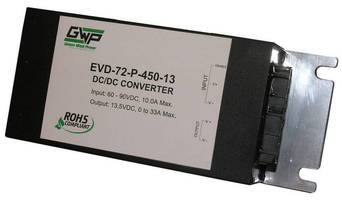 DC/DC Converters for Electric Vehicles are scalable to 900 W.
