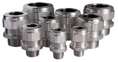 Strain Relief Fittings meet pullout requirements without external clamping.