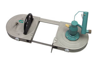 Pneumatic Band Saw is ATEX Certified for Use in Hazardous Environments