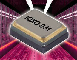 High-Frequency Clock Oscillator exhibits low jitter.