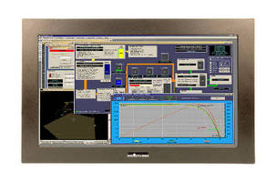 Touchscreen LCD Monitor supports industrial applications.