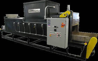 LEWCO Conveyor Oven for Coated Electrodes
