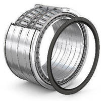 Tapered Roller Bearings feature 4-row design.