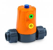 Diaphragm Valves feature integrated pneumatic actuator.